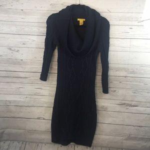 Catherine Malandrino Cowl Neck sweater dress Small